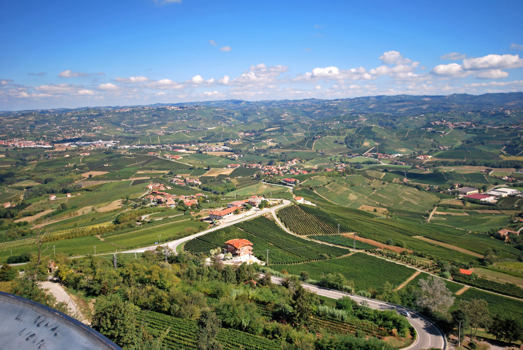 Panoramica delle Langhe